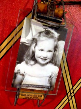 Grammy when she was four.