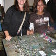 My junking buddy Carolyn (left) with Kelli was one of our favorite vendors. She had the coolest jewelry!