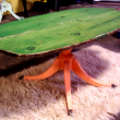 canoe seat coffee table