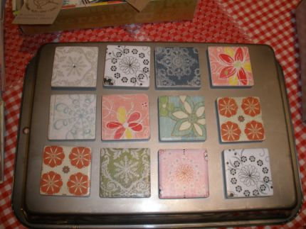 Decorate the old tiles!
