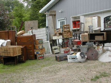 Picked up this load of junk at an estate sale. See something you like?