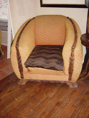 A wonderful chair I bought in Round Top.