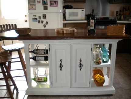 After - Kitchen Island Transformation