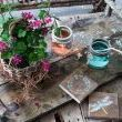 This little tray, complete with funky mason jar glasses and wooden coasters make for a fun little picnic helper outdoors, or just a pretty centerpiece for the kitchen table.And trust me, it couldnt be easier to make. Heres how.