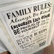 Now heres a good set of family rules. Great for a wall in ANY home!