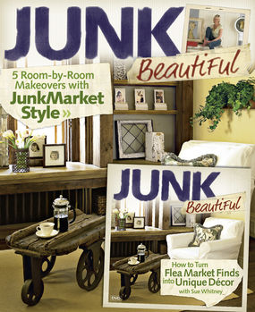 on newsstands now junkmarket style