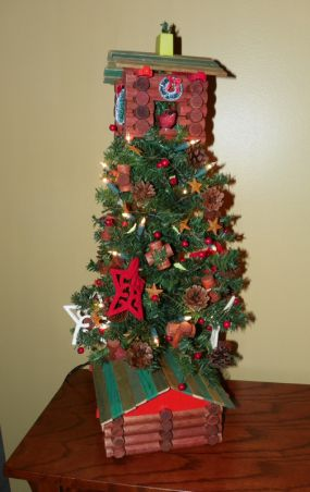This is the finished tree.