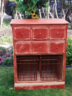 Countrified (I just made that word up) dresser!