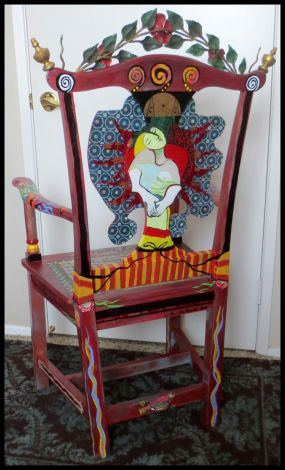 Picasso Chair Junkmarket Style