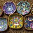 Painted Wood Bowls