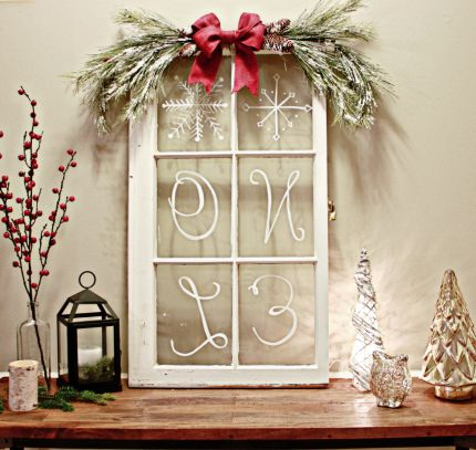 Diy window projects junkmarket style for What kind of paint to use on kitchen cabinets for vase candle holder centerpiece
