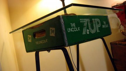 7up Soda Crate