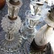 This was truly my deal of the day. Four little glass lamp bases for four bucks a piece. Oooo baby, thats a bargain!