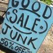 Here we go junk buddies! First of all I love this sign and thought it made a great lead photo for this post. A couple of the items are repeats from last year, but I just couldnt take them off my list of favs just yet. Some are furniture items, many are project staples, and a few ar just too cool for school!